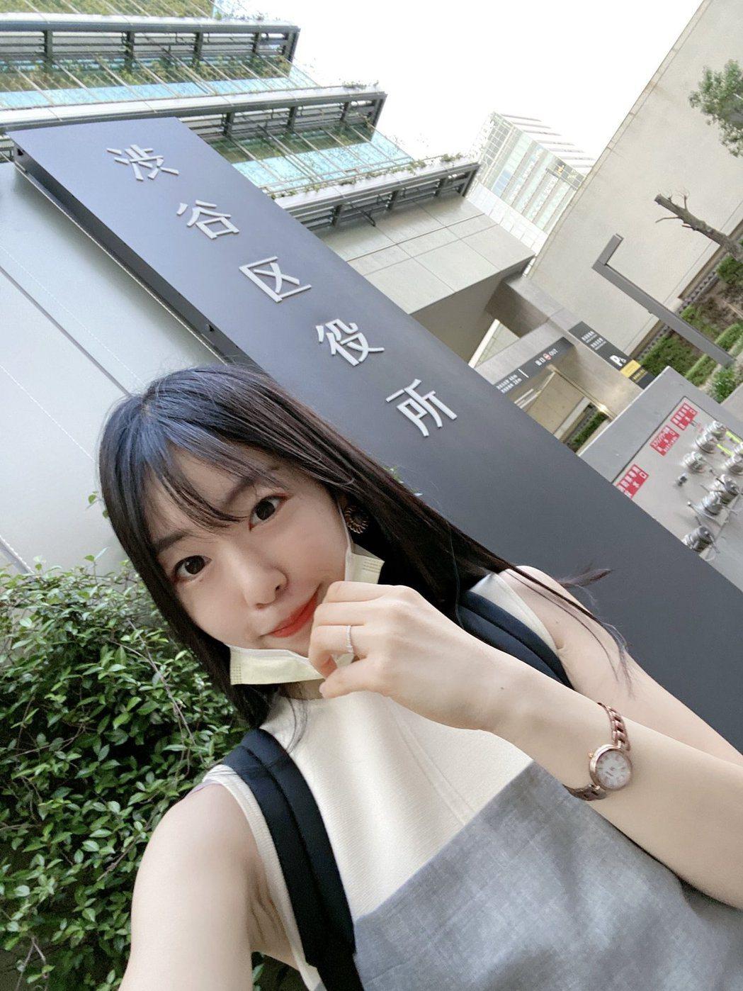 橋本侑樹現在是澀谷區議會議員。 圖/擷自橋本侑樹推特