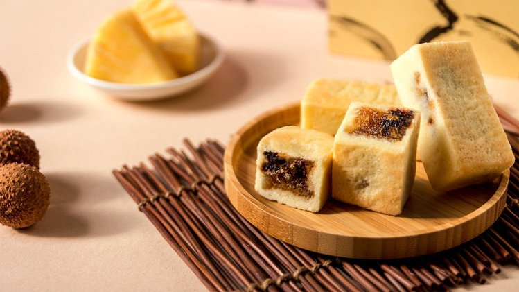 PEKOE食品雜貨鋪最新力作特濃「台灣本產鳳荔酥」,讓台灣荔枝的美味更上層樓。圖...