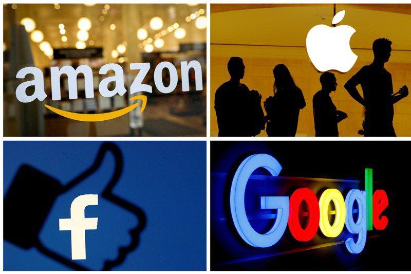 蘋果、谷歌、臉書與亞馬遜等全球非金融企業第2季現金儲備水位創下新高紀錄。(路透)