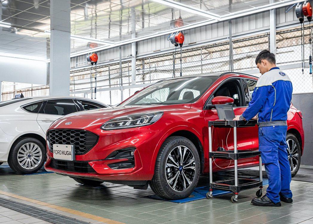 Ford建議車主在長途出行前都能回Ford專業服務廠檢測車況,以確保安心出門。 ...