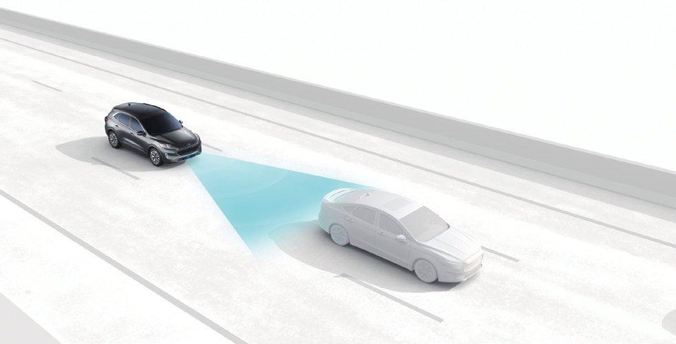 iACC 智慧型定速巡航調節系統能幫助駕駛在定速巡航過程中智慧調整車速,提供更完...