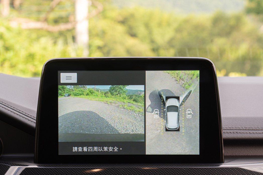 60°環景影像行車輔助系統能有效降低狹路會車或停車碰撞風險,協助駕駛更直覺且即時...