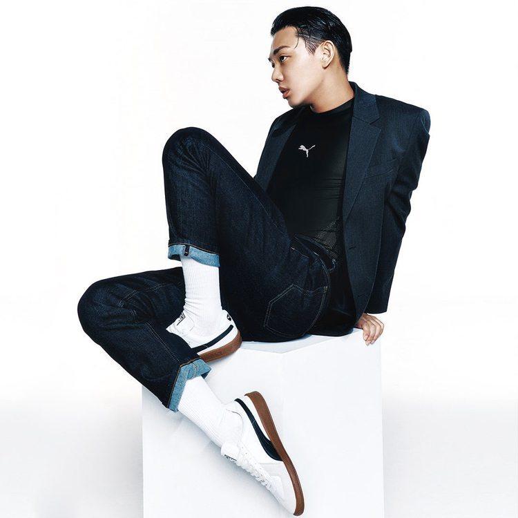 劉亞仁受到PUMA邀請擔任韓國形象大使,並拍攝一系列詮釋鞋款的帥照。圖/摘自in...