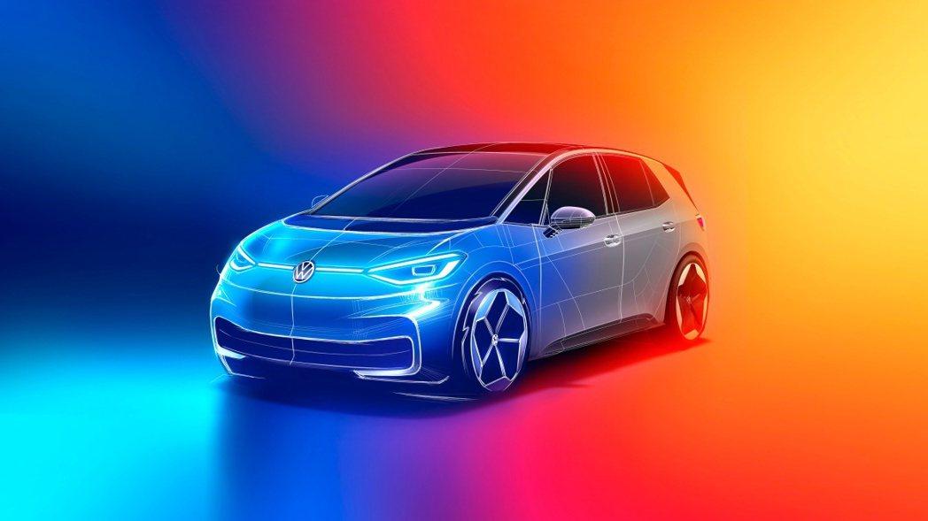 Volkswagen計畫推出ID.1、ID.2兩款純電小車搶攻平價電動車市場。 ...