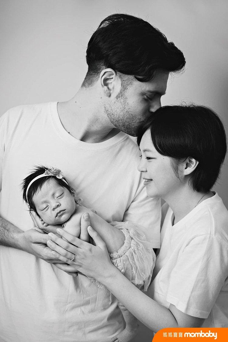 孩子出生前,吳子龍原以為自己會是個很隨性的爸爸,沒想到他反而是扮黑臉居多。圖/吳...