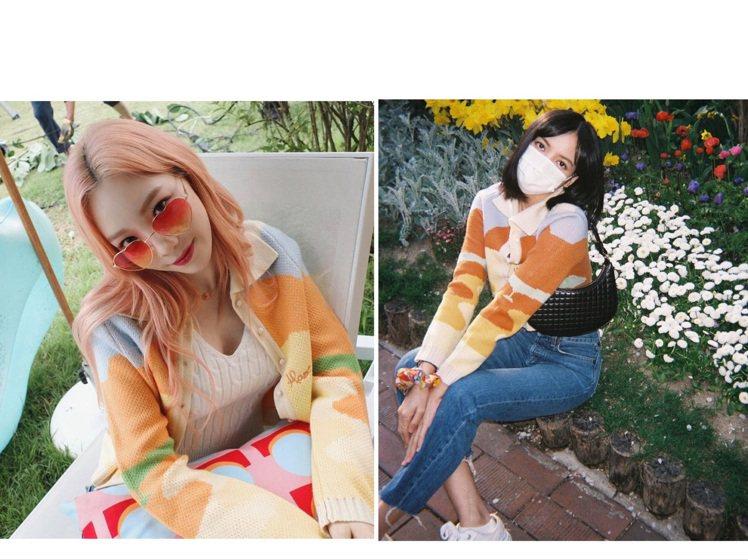 太妍和Lisa撞衫,不只晚了3個月還狂拍美照,足見太妍有多麼喜歡這件HOUSE ...