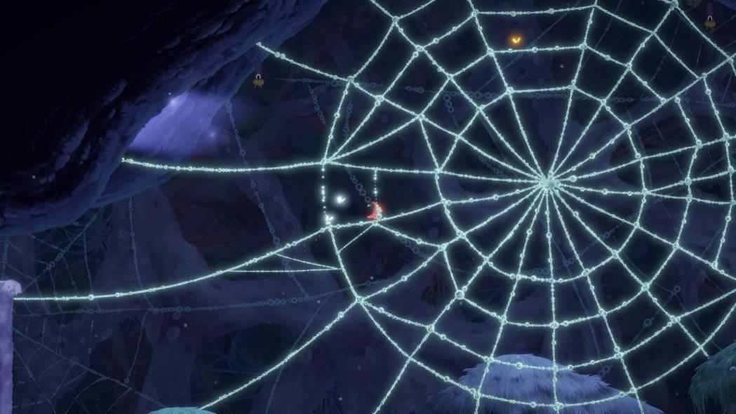 美麗的大蜘蛛網,不過遊戲裡沒有大蜘蛛~放心放心