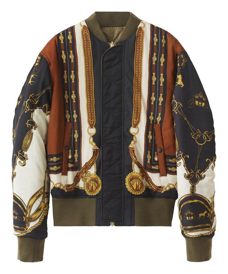H&M聯名Toga Archives系列男裝雙面夾克5,999元。圖/H...