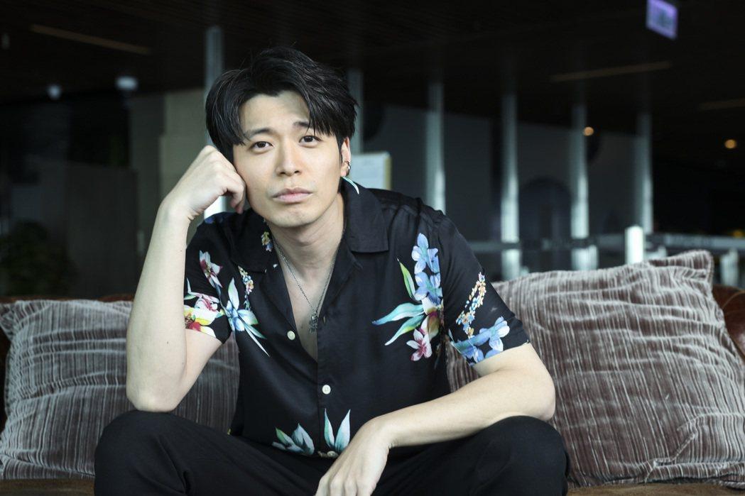 侯彥西出道15年曾遇過月收入千元。記者王聰賢/攝影