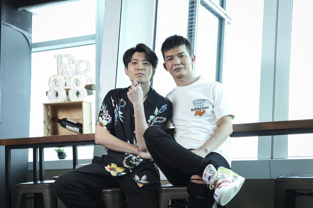 侯彥西和宥凱在片中幫蔡凡熙告白助攻。記者王聰賢/攝影