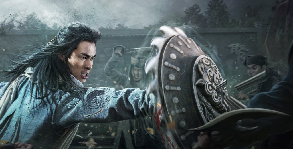 楊祐寧在「天龍八部」中打鬥場面吸睛。圖/myVideo提供