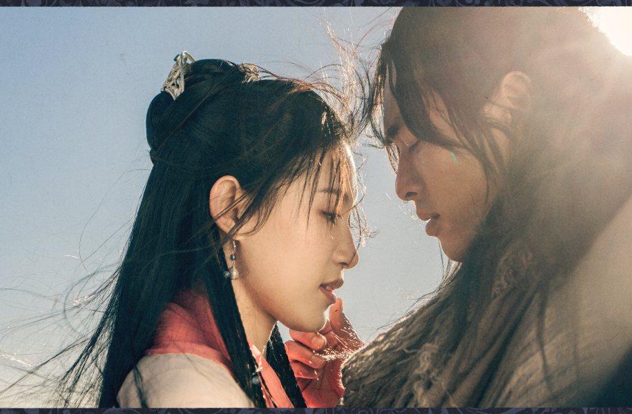 「天龍八部」楊祐寧(右)與蘇青飾演經典的「喬朱CP」。圖/myVideo提供