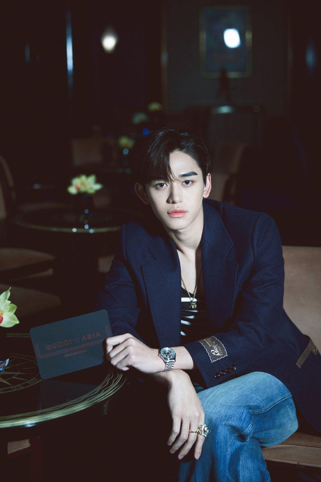 韓男團NCT人氣成員Lucas。圖/摘自微博