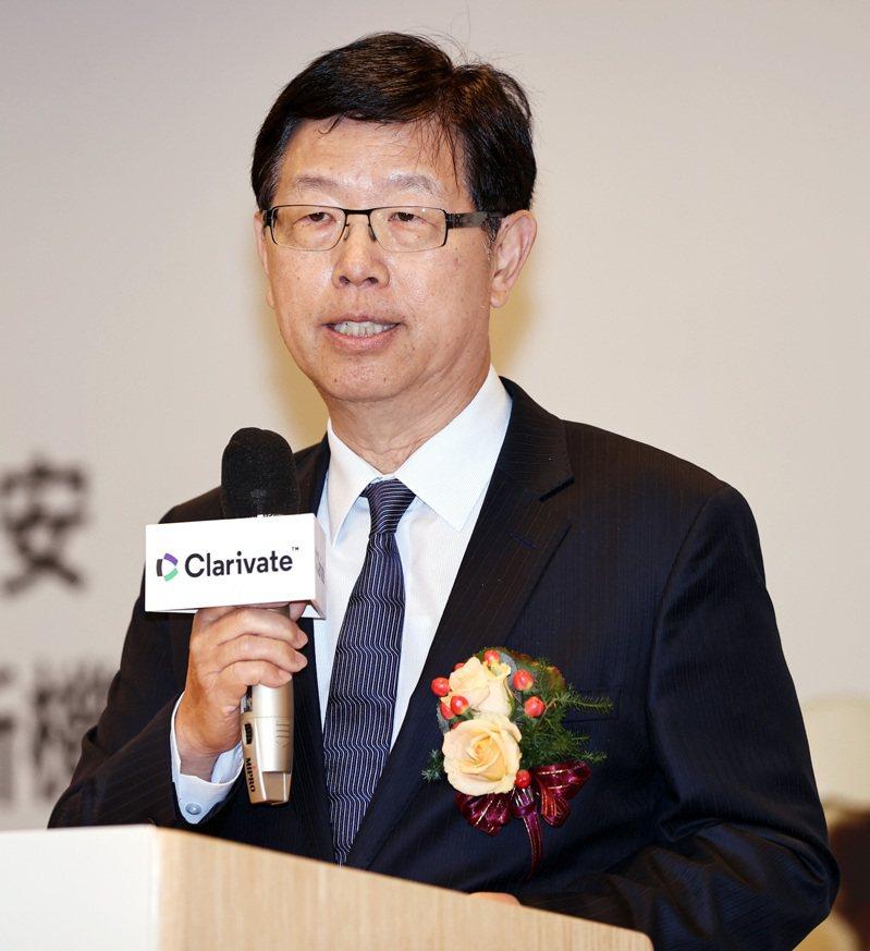 鴻海董事長劉揚偉。(本報系資料庫)