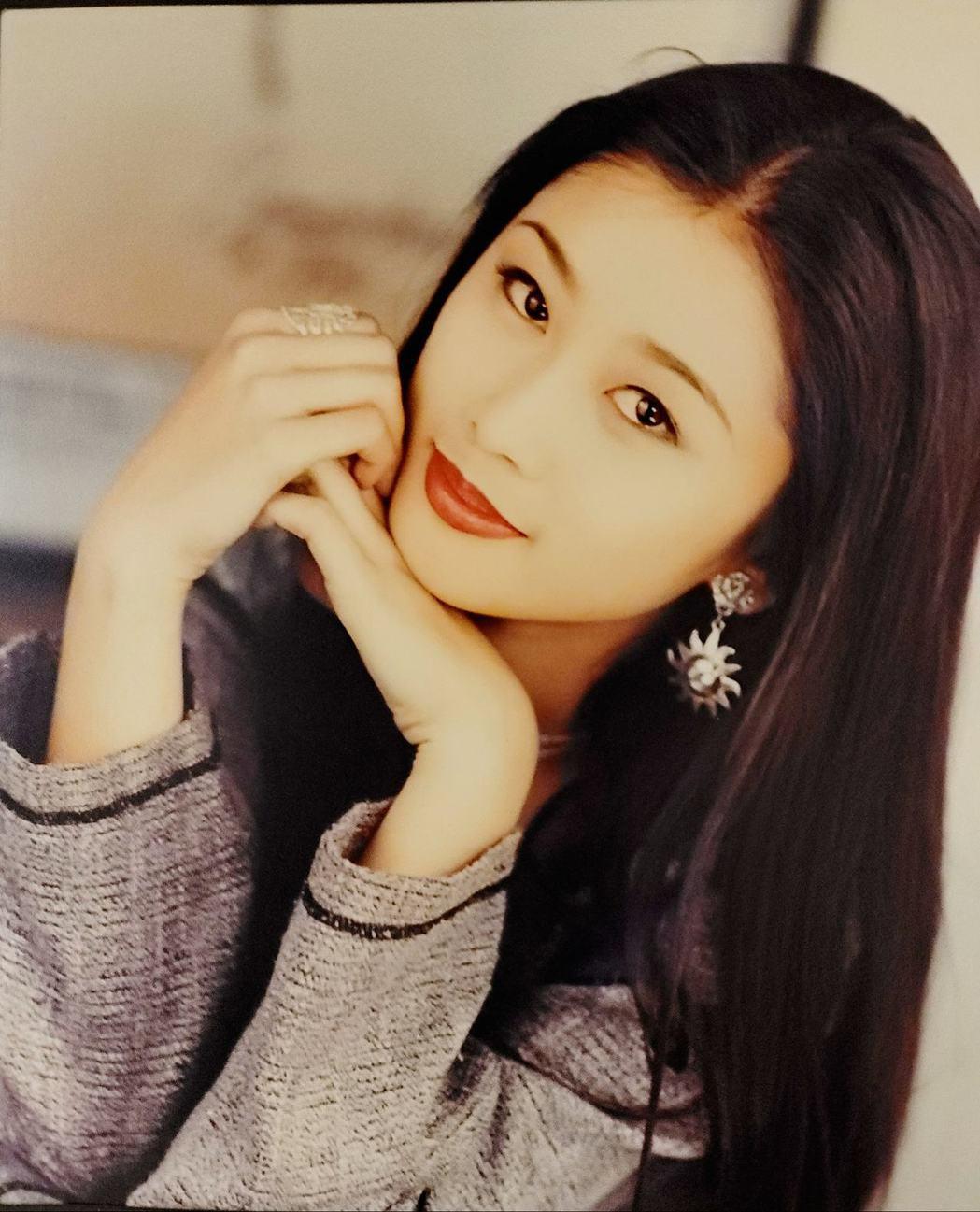 陳珮騏15歲時的照片。 圖/擷自陳珮騏臉書