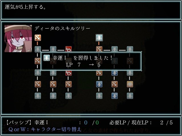 每名角色都有豐富的技能樹可供玩家解鎖。