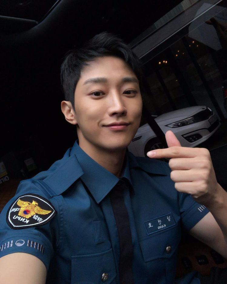 《警察課程》鄭振永。 圖/擷自Insatgram/jinyoung0423