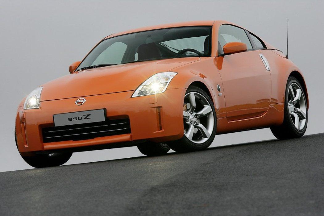 Nissan 350Z。 摘自Nissan