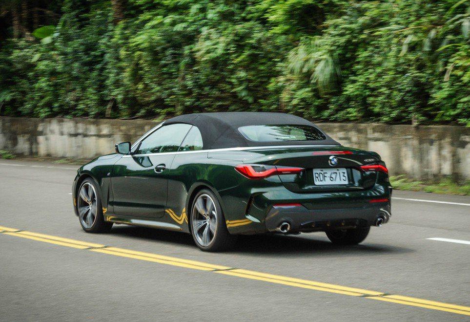 全新BMW 4 Series軟頂敞篷再次回歸。 記者趙駿宏/攝影