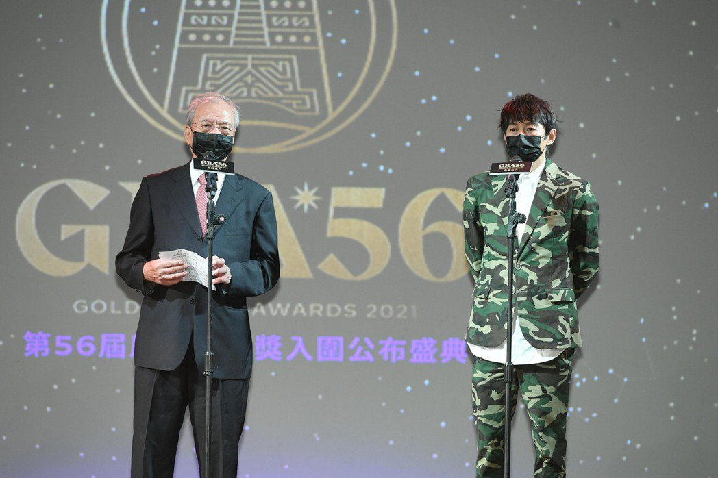 吳建恆(右)與王子龍擔任第56屆廣播金鐘獎評審主委。圖/三立電視提供