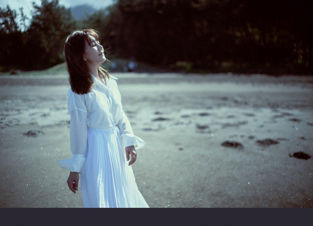 梁靜茹在數位EP「時光隨想‧三日思」難得嘗試了輕電音曲風。圖/Vocalist