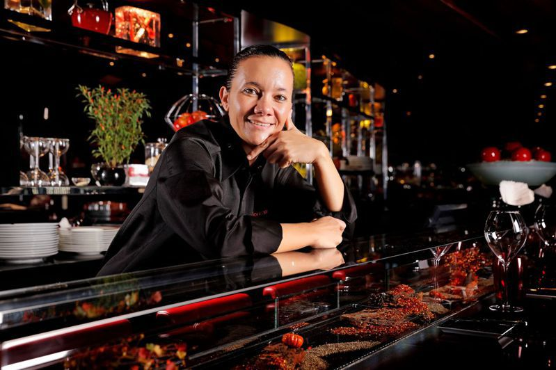 1977年出生的法籍主廚Florence Dalia,來自法國勃根地。圖/侯布雄提供。