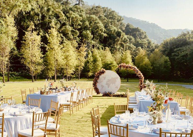 婚宴2.0時代來臨,婚禮業者出招搶新人,新型態婚禮形式成熱門新選擇。圖/Marr...
