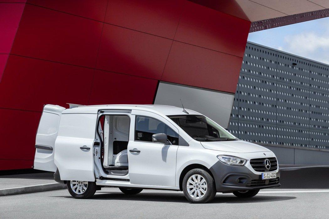 Mercedes-Benz Citan Panel Van。 圖/Mercede...