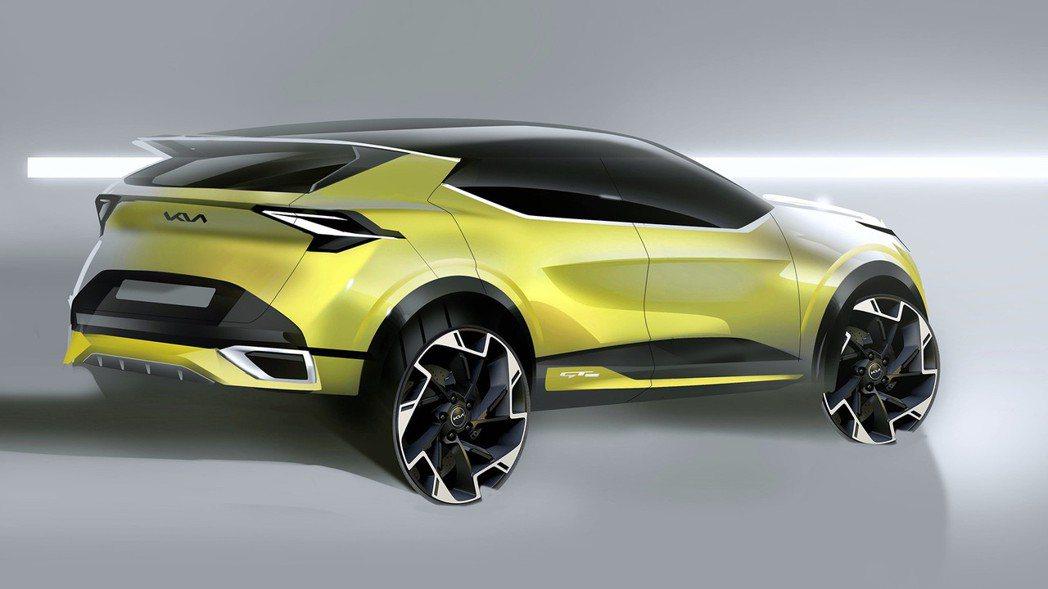 全新Kia Sportage Plug-in Hybrid插電式油電混合版本將於...