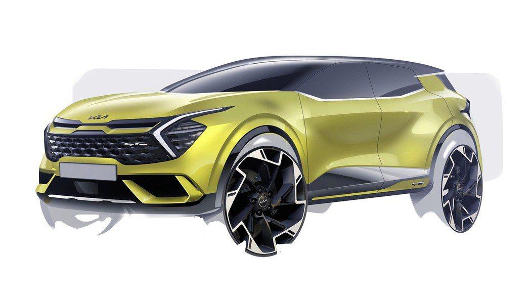 Kia Europe預告9月1日將發表歐規大改款Sportage。 摘自Kia