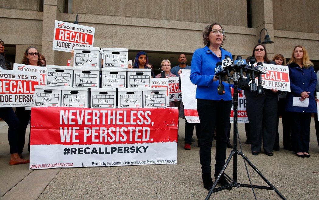 2018年發起的罷免法官佩斯基行動。2018 年 6 月,佩斯基也因為此案被選民...