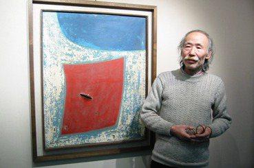 孤高的詩人畫家秦松(上):純淨熾熱的黑色太陽