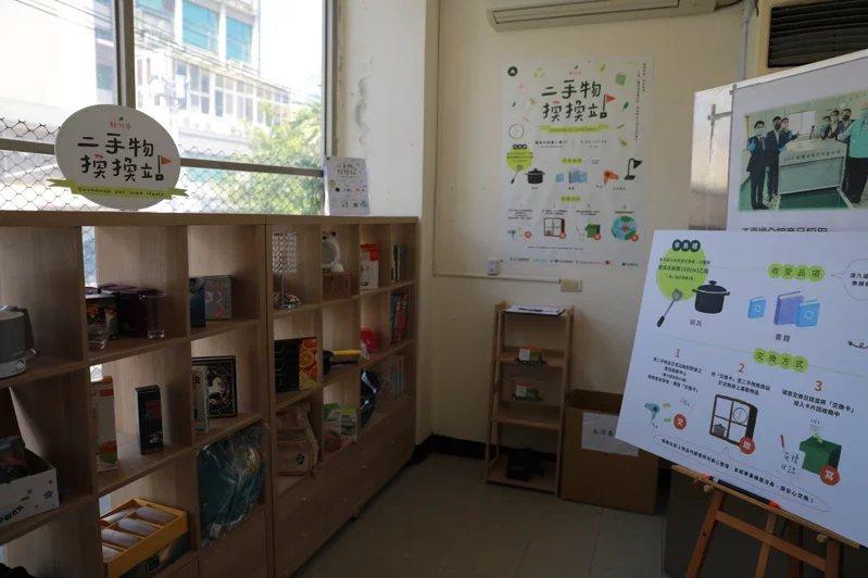 新竹市政府環保局與社福單位合作,即日起至年底設立「二手物換換站」,民眾只要是物件...