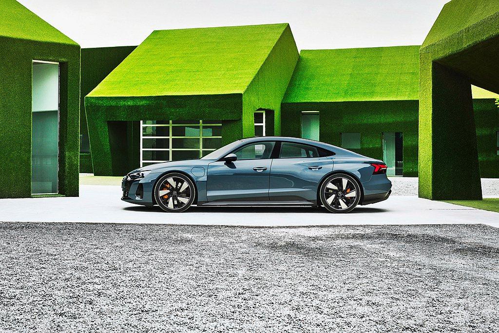 Audi也正處於電動化轉型階段,台灣奧迪引進品牌純電休旅車款Audi e-tro...