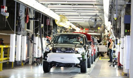 全都是沒有晶片惹的禍!北美Toyota開始降低產能?