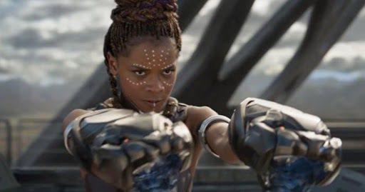 蕾蒂夏萊特被認為是「黑豹」未來續集的關鍵人物。圖/迪士尼提供