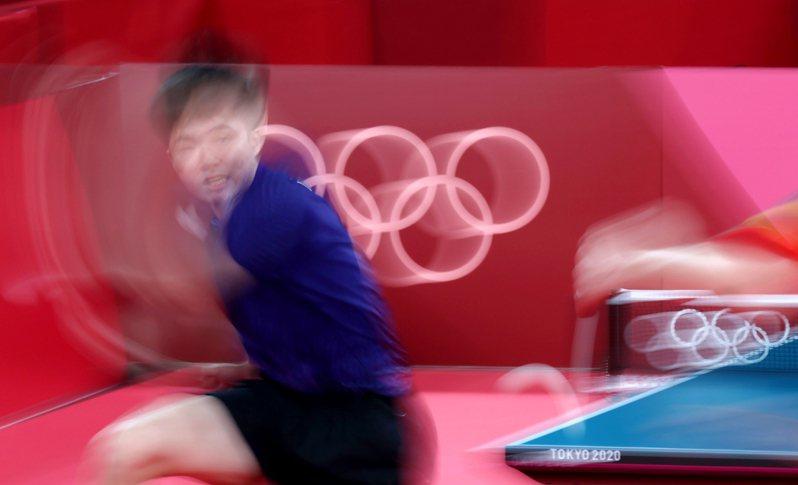 我國桌球好手林昀儒在東京奧運的精彩表現圈粉無數。特派記者余承翰/東京攝影