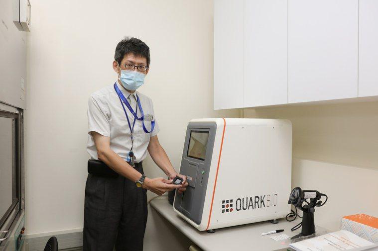 新光醫院去年與業界合作成立實驗室,進行肺癌、乳癌等病症臨床研究。圖/新光醫院提供