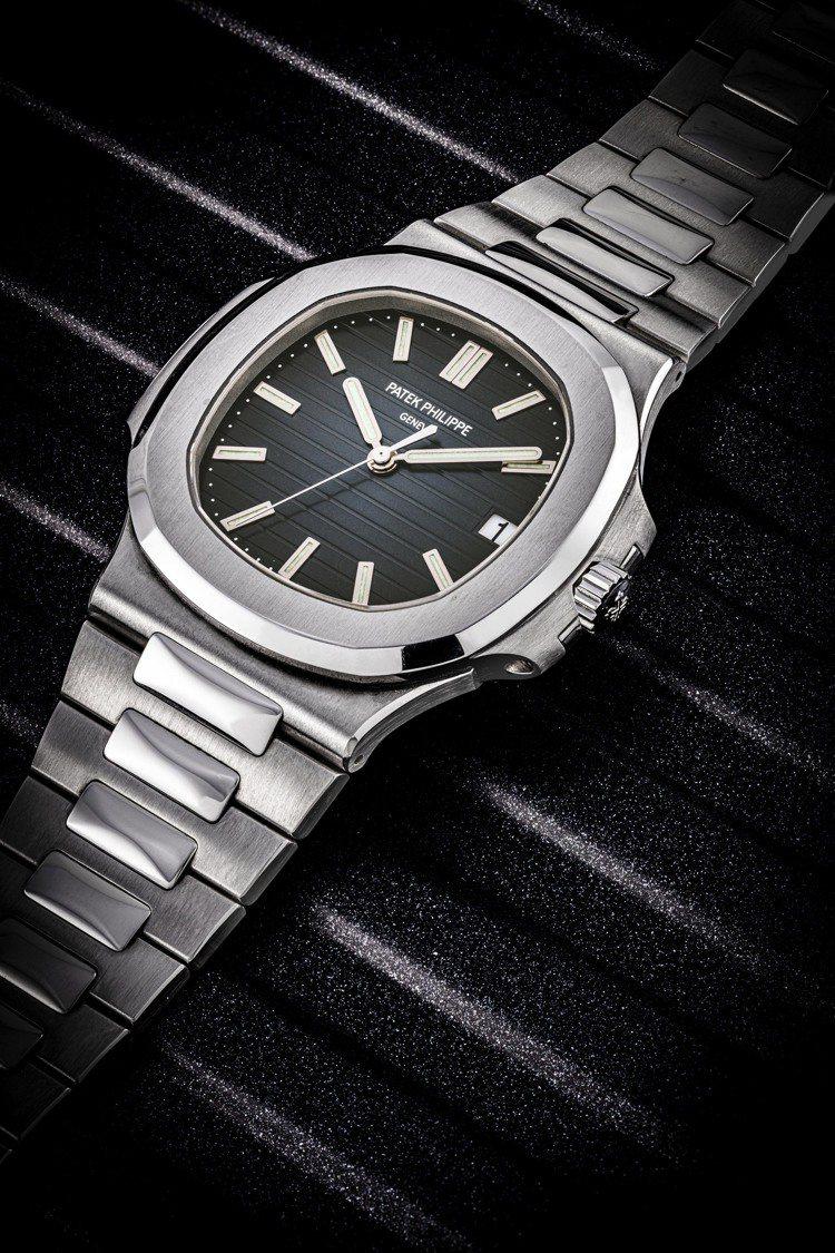 拍品編號 2 —百達翡麗不銹鋼Nautilus型號 5711/1A-001腕表連...