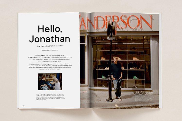 《LifeWear magazine》第五期有Jonathan Anderson...