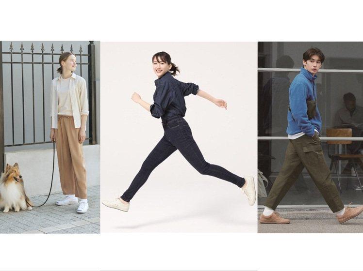 UNIQLO 推出秋冬新品,大使綾瀨遙詮釋的+2公分女裝特級彈性Skinny高腰...