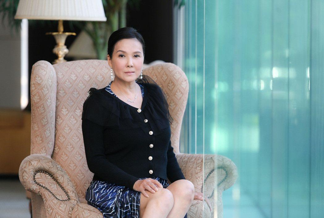 丁國琳因拍戲受傷施打類固醇胖了10多公斤。圖/三立提供