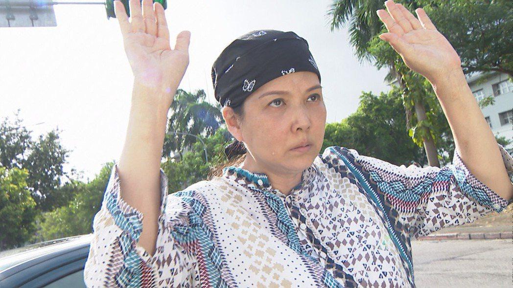 丁國琳在三立台八「天之驕女」中各種報應都來。圖/三立提供