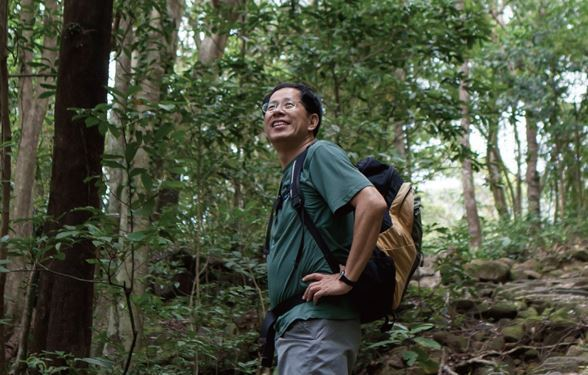 劉克襄走遍香港郊野。圖/港旅局提供