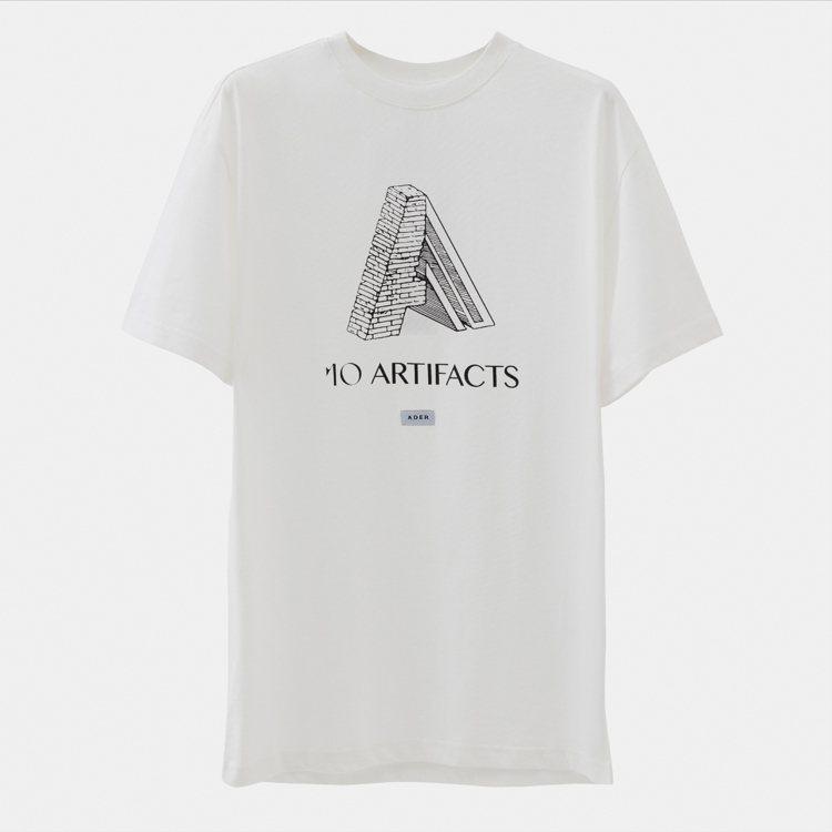 ADER x ARTIFACTS聯名T恤,4,680元。圖/ARTIFACTS提...