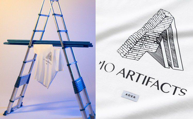 ADER x ARTIFACTS推出聯名T恤。圖/ARTIFACTS提供