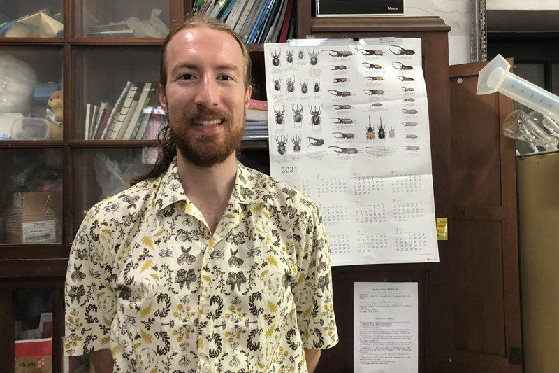 台大昆蟲系助理教授薛馬坦實驗發現,小黃瓜根本無法有效驅蟻,破除這莫名的都市傳說,成果今年4月登在「社會生物學期刊」(Sociobiology)網站。記者何定照/攝影