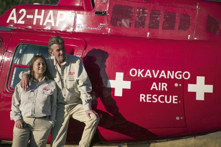 成立於2011年的航空醫療救援組織Okavango Air Rescue,以直升...