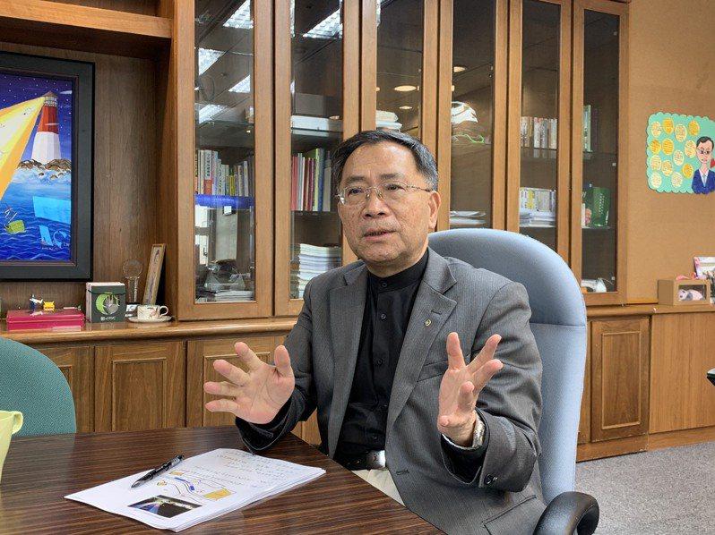 台北市副市長蔡炳坤多次被點名代表民眾黨選台中市長,日前拍影片自封「坤爸」行銷,讓外界多了想像空間。圖/聯合報系資料照片