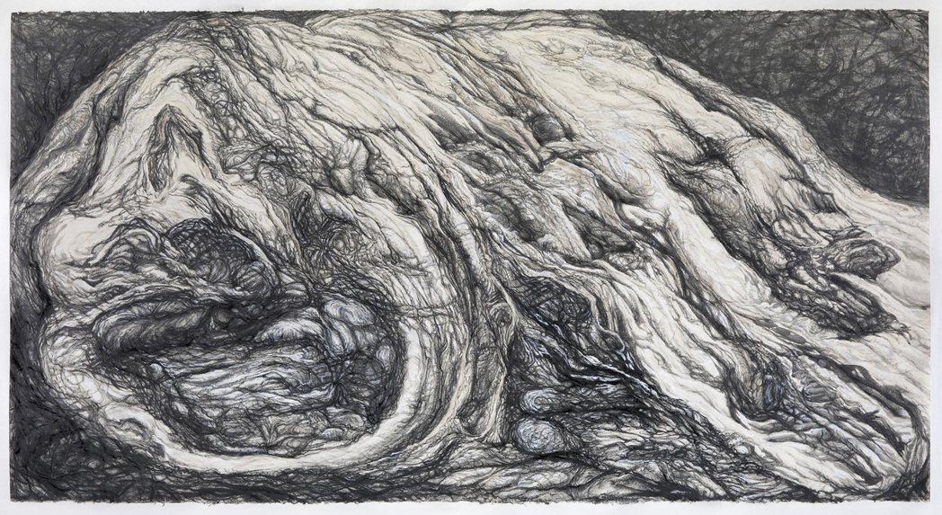 〈父親的石頭〉作品。 圖/安卓藝術提供